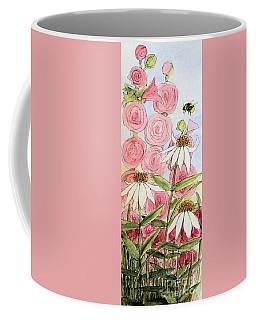Farmhouse Garden Coffee Mug by Laurie Rohner