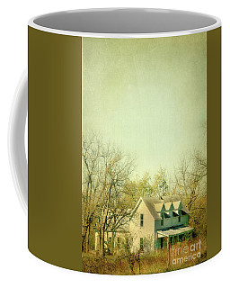 Coffee Mug featuring the photograph Farmhouse In Arkansas by Jill Battaglia
