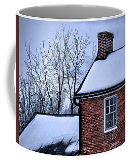 Coffee Mug featuring the photograph Farmhouse Window by Robert Geary