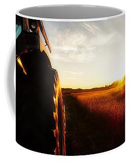Farming Until Sunset Coffee Mug