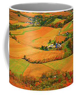 Farms Can Be Seen From Pa At Coffee Mug