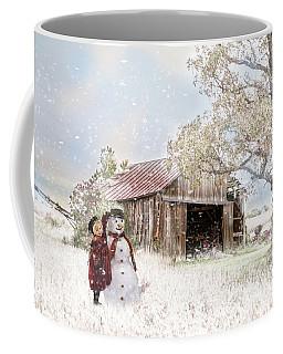 Farmstyle Snowman Coffee Mug