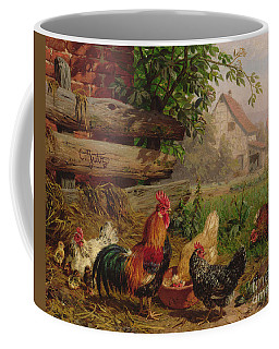 Farmyard Chickens Coffee Mug