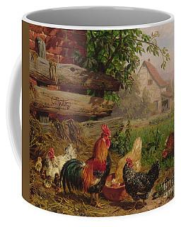 Farmyard Chickens Coffee Mug