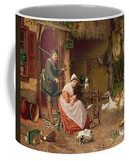 Farmyard Scene Coffee Mug