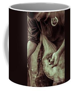 Farrier Hot Shoe Coffee Mug
