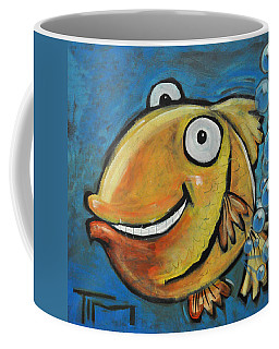 Farting Fish Coffee Mug