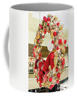Fashion Show Christmas Wreath  Coffee Mug by Aloha Art