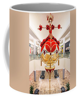 Fashion Show Red And Gold Christmas Ornament Full Coffee Mug