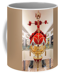 Fashion Show Red And Gold Ornament Coffee Mug