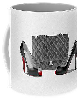 Fashion Statement Black And White Coffee Mug