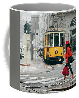 Fashionista In Milan, Italy Coffee Mug