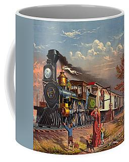 Fast Mail 1875 Coffee Mug by Padre Art