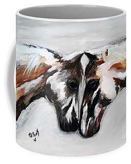 Father And Daughter - Find All The Animals Inside Coffee Mug