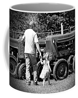 Coffee Mug featuring the photograph Father/daughter Day by Rick Morgan