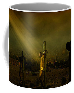 Father, Into Your Hands I Commend My Spirit Coffee Mug