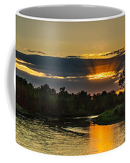 Father's Day Sunset Coffee Mug