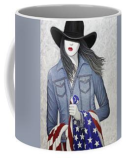 Fathers Flag Coffee Mug