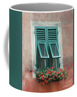 Faux  Painting Window  Coffee Mug