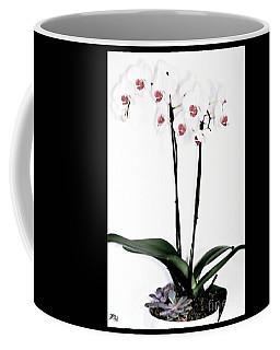 Favorite Gift Of Orchids Coffee Mug by Marsha Heiken