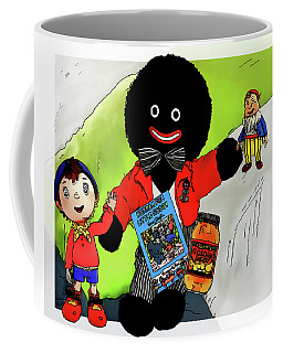 Coffee Mug featuring the digital art Favourite Childhood Memories by Pennie  McCracken