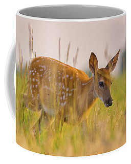 Fawn In Grasslands Coffee Mug