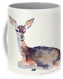 Fawn Coffee Mug by Mark Adlington