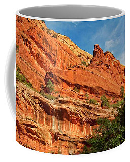 Fay Canyon Sandstone, Sedona, Arizona Coffee Mug