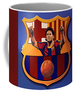 Fc Barcelona Painting Coffee Mug