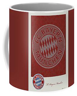Fc Bayern Munich Logo And 3d Badge Coffee Mug