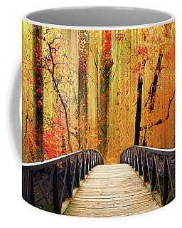 Coffee Mug featuring the photograph Forest Fantasia by Jessica Jenney