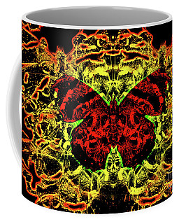 Fear Of The Red Admirals Coffee Mug
