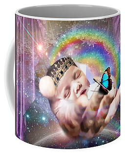 Coffee Mug featuring the digital art Fearfully And Wonderfully Created by Dolores Develde