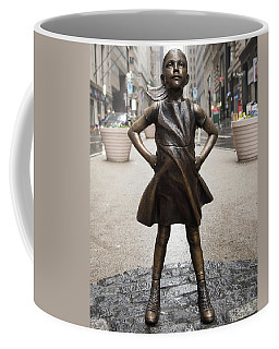 Fearless Girl 2 Coffee Mug