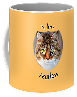 Fearless Coffee Mug by Judi Saunders