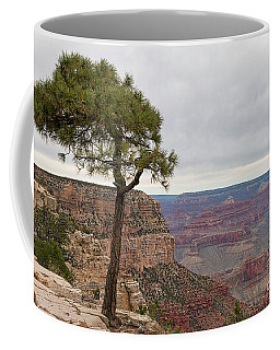 Coffee Mug featuring the photograph Fearless Tree by Ana V Ramirez
