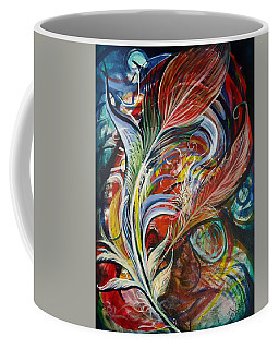 Feather Fury Coffee Mug