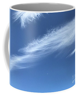 Feather In The Sky Coffee Mug
