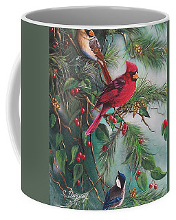 Feathered Friends  Coffee Mug