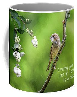 Feathering The Nest Coffee Mug
