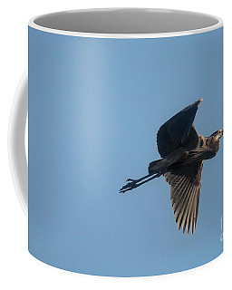 Coffee Mug featuring the photograph Feathering The Nest by David Bearden