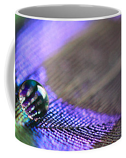 Feathers And Water Drops Coffee Mug