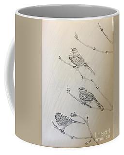 Feathers Friends Coffee Mug
