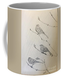 Feathers Friends Coffee Mug