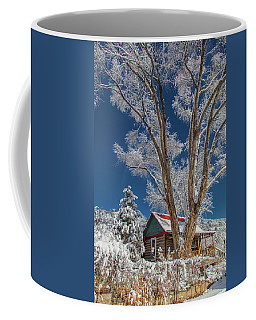 Feathers In The Sky Coffee Mug