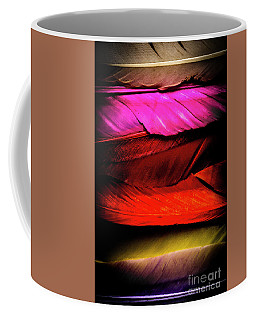 Feathers Of Rainbow Color Coffee Mug