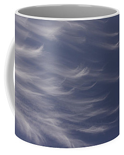 Coffee Mug featuring the photograph Feathery Sky by Shari Jardina