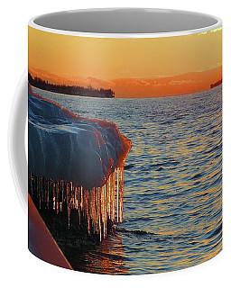 Feburary Sunset Cape Vincent Coffee Mug