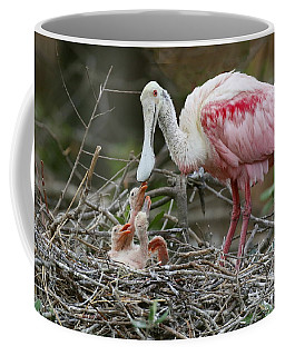 Feeding The Babies Coffee Mug