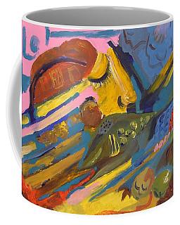 Feel Coffee Mug by Rita Fetisov